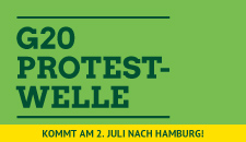 G20-Protestwelle 2. Juli in Hamburg